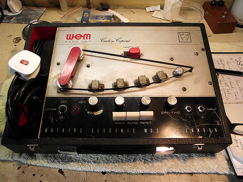 1966-67 WEM Custom Copicat Repaired